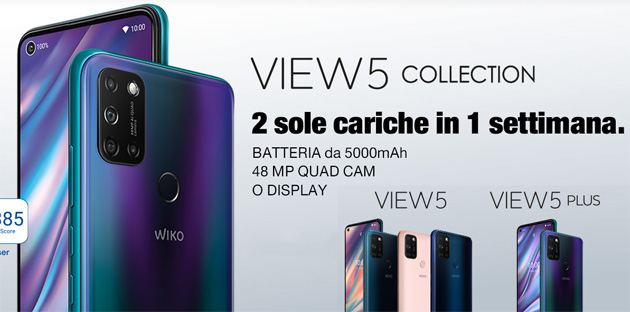 Foto Wiko anticipa Black Friday scontando le serie View5 e View4