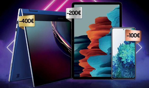 Samsung lancia Galaxy S20 FE e promozione che sconta fino a 400 euro selezionati smartphone, tablet e notebook