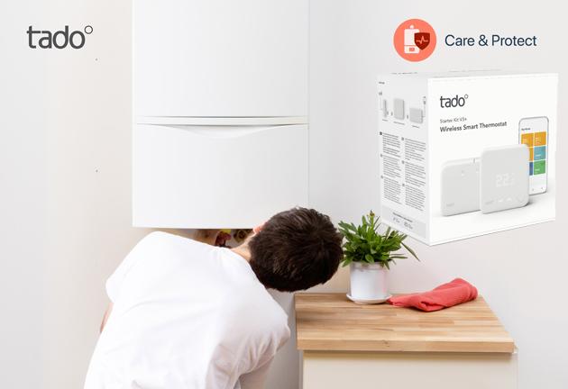Tado lancia Termostato Intelligente Wireless e funzione che aiuta a prevenire e diminuire i guasti della caldaia