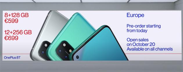 OnePlus 8T ufficiale: Specifiche, Caratteristiche, Foto, Video e Prezzi in Italia
