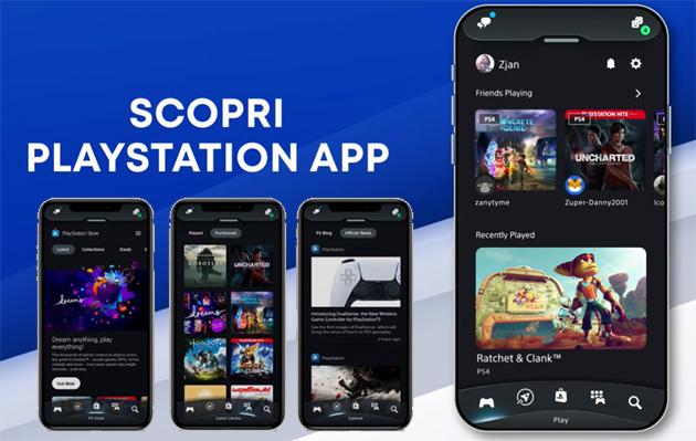PS5: Sony aggiorna PS App, lancia concorso per vincere console PlayStation 5 e mostra in anteprima PS5 UX