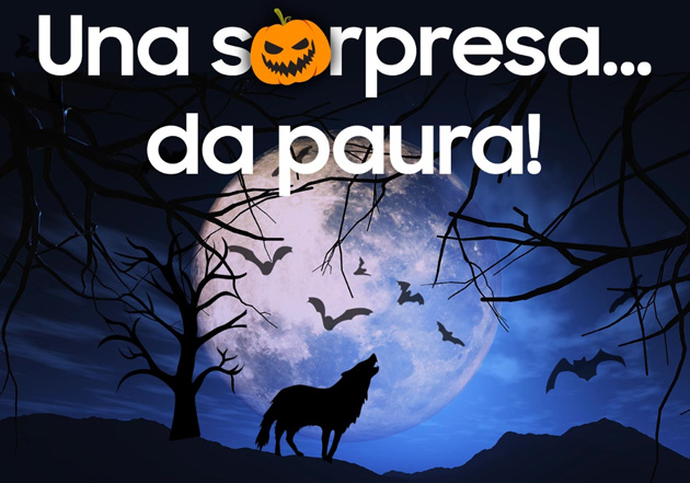 Foto Samsung anticipa Halloween con Una Sorpresa da paura su Samsung Members: due codici sconto in regalo