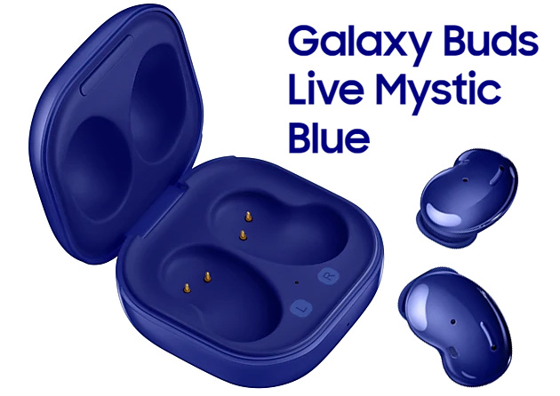 Samsung Galaxy Buds Live in Mystic Blue in Italia