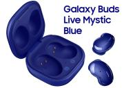 Foto Samsung Galaxy Buds Live in Mystic Blue in Italia