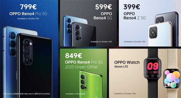 Oppo Reno4 5G Series ufficiale in Italia: caratteristiche, foto, video e prezzi