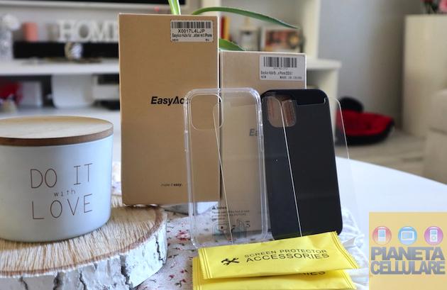 Recensione Cover e vetro EasyAcc iPhone 12 e 12 Pro, in super sconto