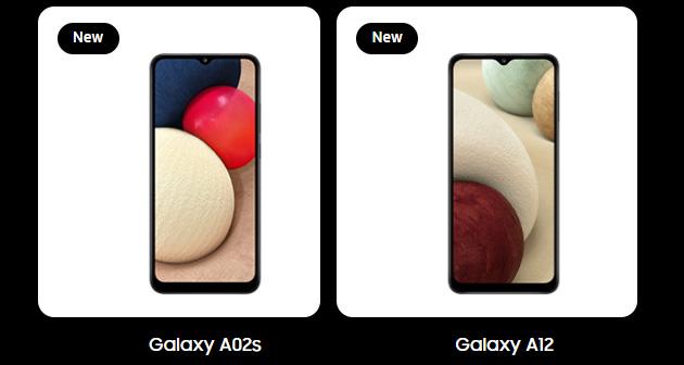 Samsung Galaxy A12 e Galaxy A02s sono i primi Galaxy A 2021 annunciati