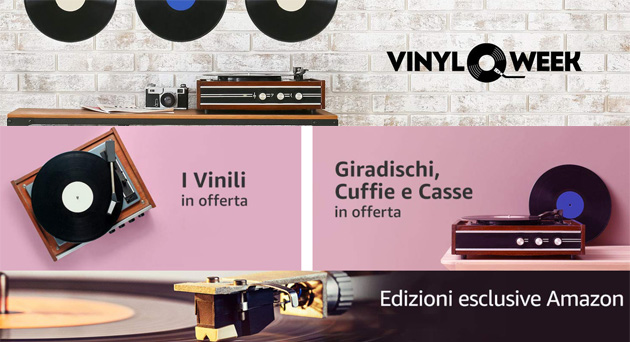 Amazon Vinyl Week 2020, sette giorni pensati per i cultori del disco nero