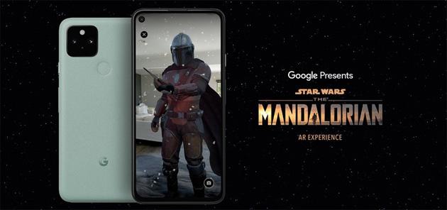 Il Mandaloriano prende vita grazie alla Google AR