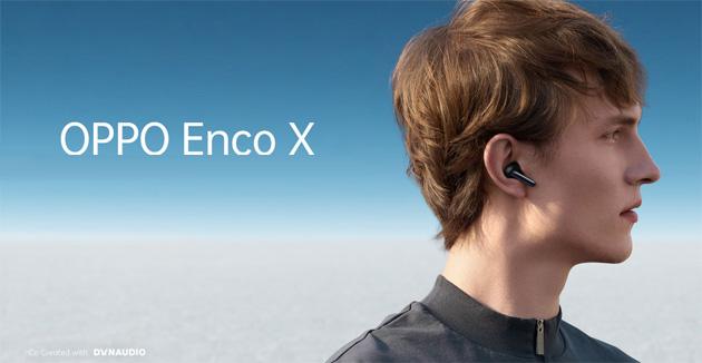 Oppo Enco X True Wireless, auricolari senza fili con ANC e LHDC