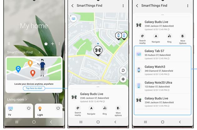Samsung presenta SmartThings Find per aiutare a trovare i propri dispositivi Galaxy