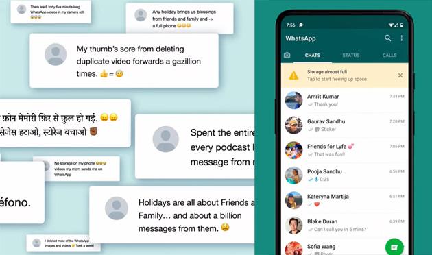 Whatsapp introduce i Messaggi Effimeri temporanei e nuovo strumento per gestire i dati delle chat