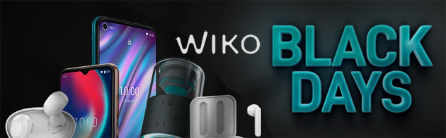 Foto Wiko per Black Friday 2020 sconta smartphone, accessori e i nuovi WiBUDS Essentials