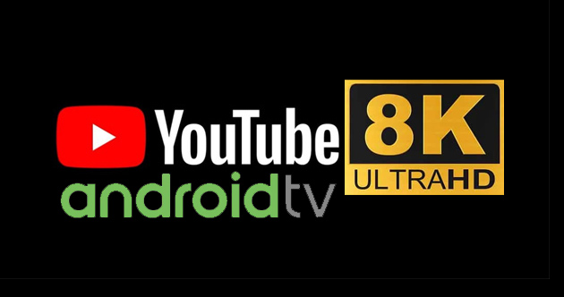 Foto Youtube per Android TV supporta 8k e Cast Connect