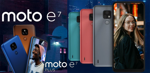 Motorola Moto E7 Series con ampia batteria in Italia: Specifiche, Foto e Prezzi