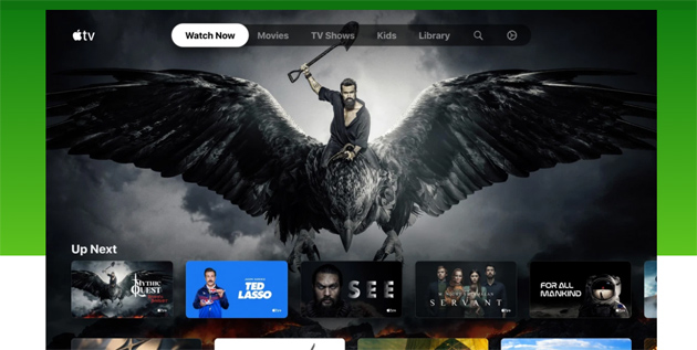 App Apple TV per Xbox disponibile nel Microsoft Store