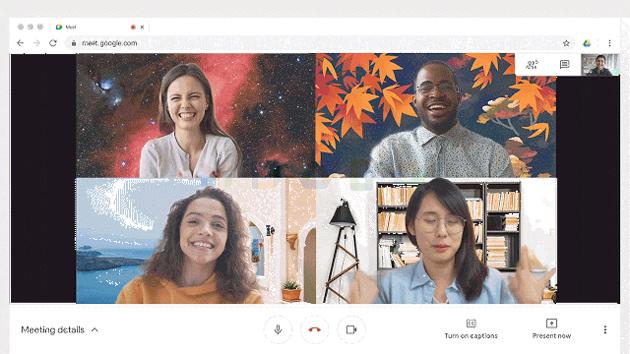 Google Meet, sfondo virtuale con immagine personalizzata: come fare