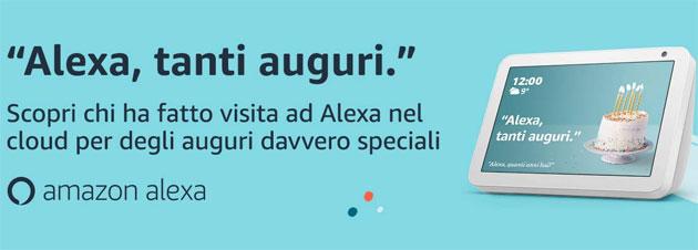 Alexa, Tanti Auguri: il digital assistant di Amazon compie due anni in Italia
