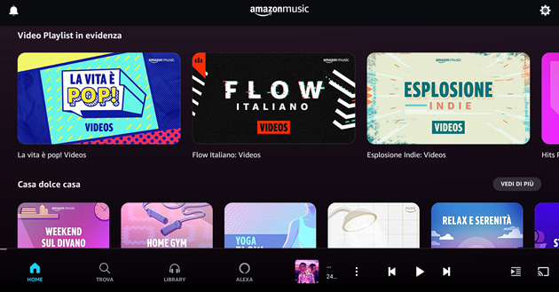 Foto Amazon Music, Video Musicali e X-Ray ora disponibili