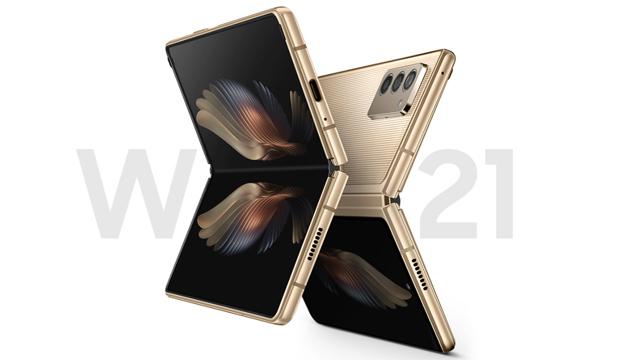 Samsung W21 5G, pieghevole di lusso parente del Galaxy Z Fold2