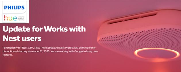 Philips Hue smette di funzionare con Nest, temporaneamente