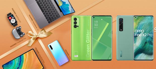 Oppo Green Days e 11-11 Huawei Single's Day 2020: le migliori offerte