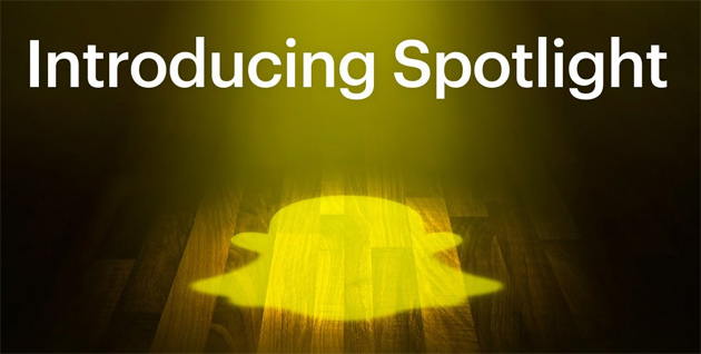 Snapchat lancia Spotlight, sua risposta a TikTok