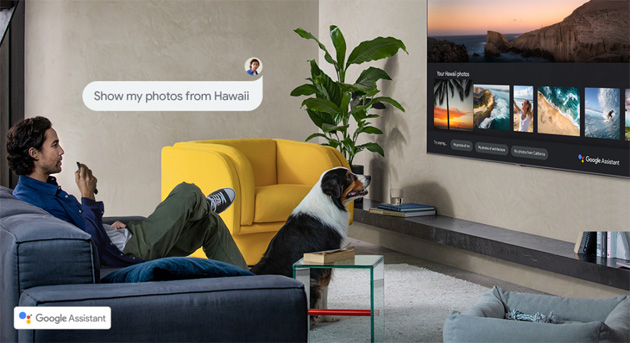 Google Assistant arriva su Samsung Smart TV al fianco di Alexa e Bixby