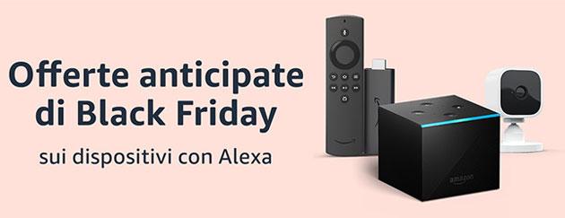 Black Friday 2020, tutti i dispositivi Amazon scontati (Fire, Echo, Kindle, ecc)