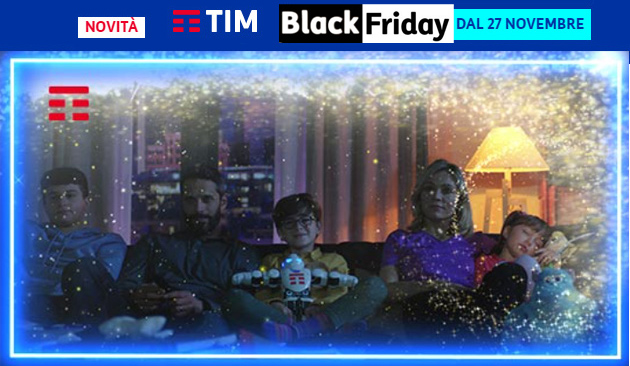 TIM per Black Friday 2020: TIM JET, 2 settimane di Disney Plus in regalo, sconti su Smartphone e Smart Devices