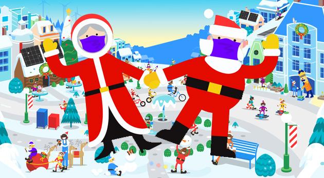 Santa Tracker 2020, il viaggio di Babbo Natale si segue con Google