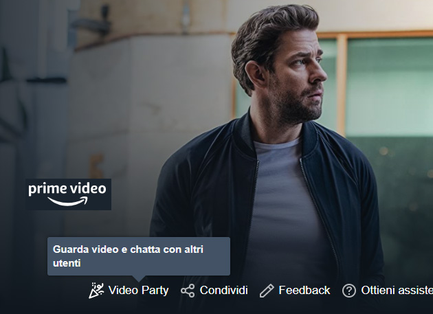Amazon Prime Video Party in Italia: come funziona la visione di gruppo su Prime Video