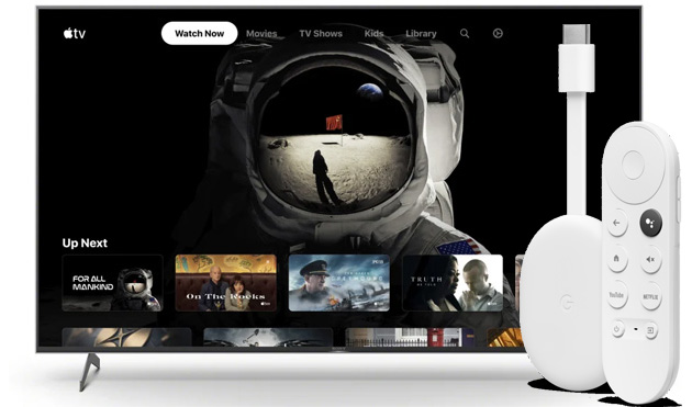 Foto App Apple TV in arrivo su Chromecast con Google TV e altri dispositivi Android TV