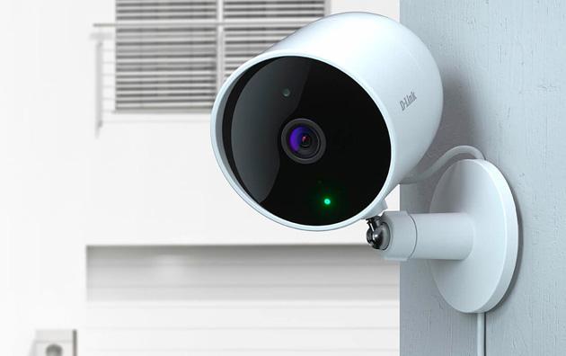 D-Link DCS-8302LH, Videocamera per la sorveglianza indoor e outdoor con IA e supporto per Alexa e Assistente Google