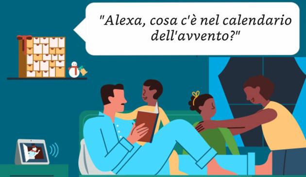 Natale con Alexa: cose da provare, dal Santa Tracker ai duetti con Babbo Natale e il Calendario dell'Avvento