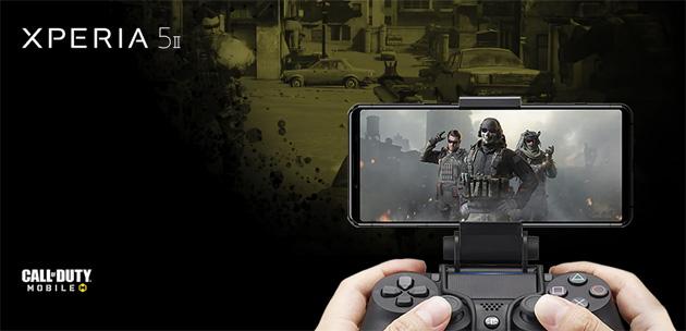 Sony con Xperia 5 II regala controller DualShock4 e supporto per cellulare ma non solo