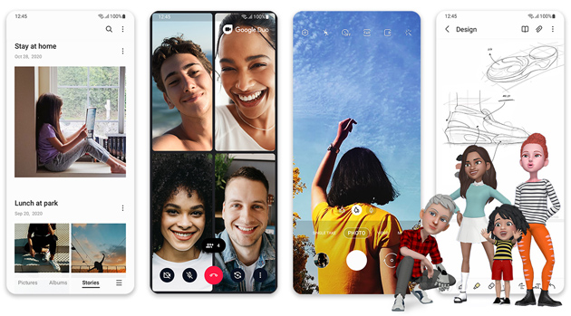 Samsung One UI 3 con Android 11, distribuzione iniziata: Novita' e Dispositivi aggiornabili in Italia