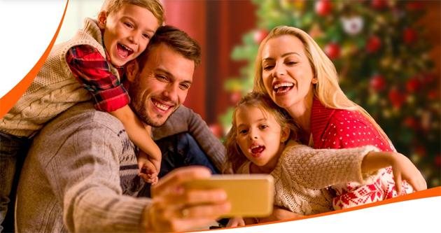A Natale Internet Illimitato Gratis da smartphone con Vodafone, TIM e WindTre (gia' dalla Vigilia)