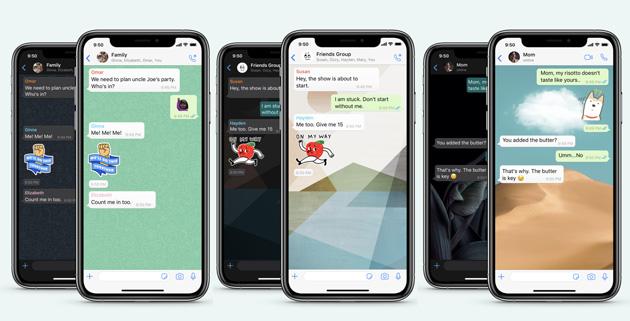 WhatsApp lancia nuovi Sfondi per le Chat e la Ricerca di Sticker
