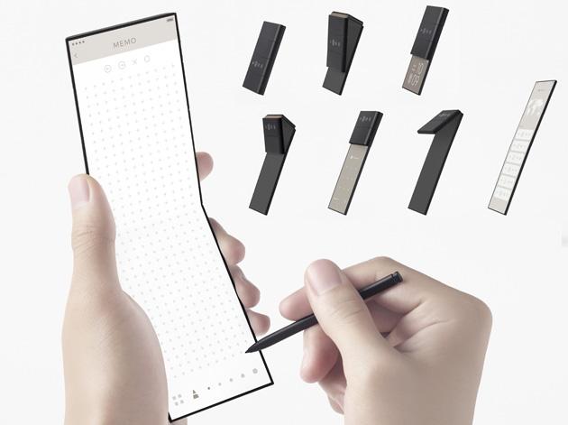 Oppo presenta concept di telefono con tre schermi pieghevoli ed entra nel HEVC Advance Patent Pool
