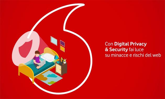 Vodafone lancia nuovo servizio per proteggere online tutta la famiglia