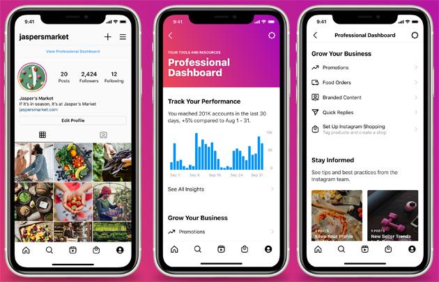 Instagram aiuta creator e aziende a crescere con la nuova Dashboard per Professionisti
