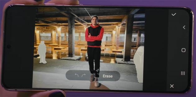 Object Eraser su Samsung Galaxy permette di eliminare persone, oggetti e cose nelle foto in maniera intelligente
