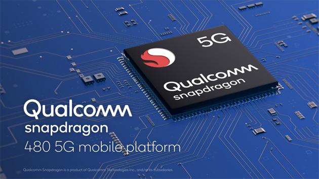 Qualcomm annuncia Snapdragon 480 5G per smartphone 5G economici