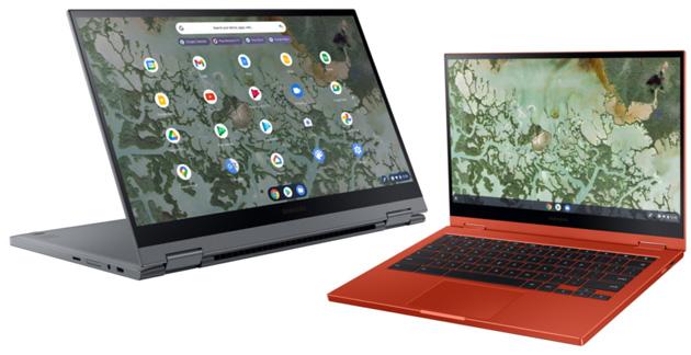 Samsung Galaxy Chromebook 2 con display QLED annunciato