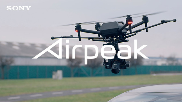 Sony annuncia Airpeak, suo primo drone