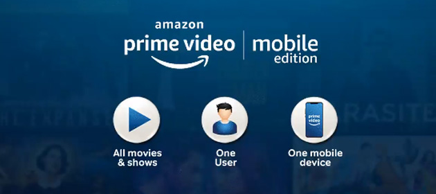 Foto Amazon lancia Prime Video Mobile Edition: piano per vedere in SD tutto il catalogo su device iOS o Android