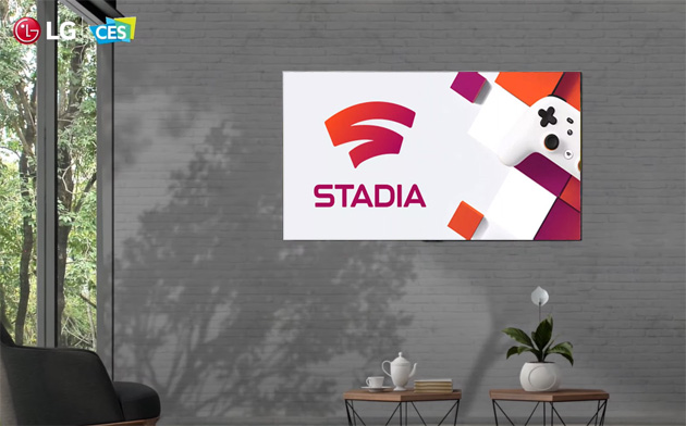 Google Stadia su LG TV con WebOS in arrivo nel 2021