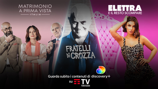 Discovery Plus su TIMvision