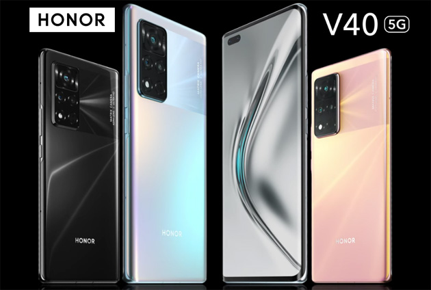 Foto Honor lancia View40 (V40) con 5G, display OLED, batteria con ricarica ultrarapida in Cina